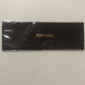 New Tom Ford cleaning cloth for glasses